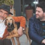 Marco e Gianmarco Rossi con Nerina